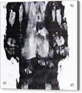 Male Nude Back Acrylic Print
