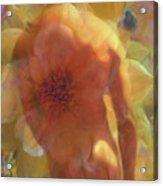 Male Flowers Acrylic Print