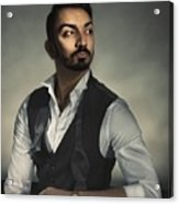 Male Portrait Acrylic Print