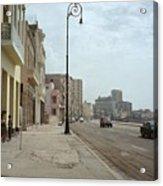 Malecon En Havana Acrylic Print