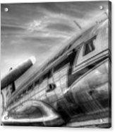 Malev Airlines Ilyushin Il-14 Acrylic Print