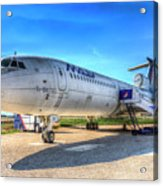 Malev Airlines Tupolev Tu-154 Acrylic Print
