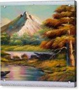 Malibu Hill Acrylic Print