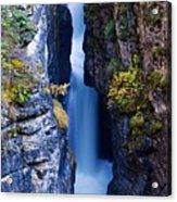 Maligne Canyon Acrylic Print