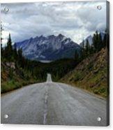 Maligne Lake Road Jasper National Park Acrylic Print