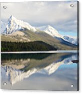 Malingne Lake Reflection, Jasper National Park  Acrylic Print