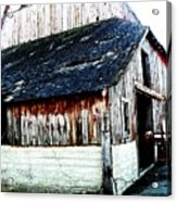 Mallard Barn Acrylic Print