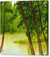 Mallard Lake Bc Acrylic Print