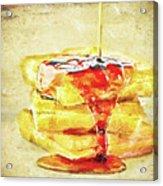 Malt Waffles Acrylic Print