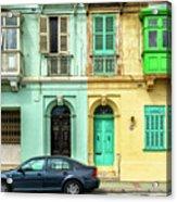Maltase Style Doors And Windows  Acrylic Print