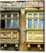 Maltase Style Windows  Acrylic Print