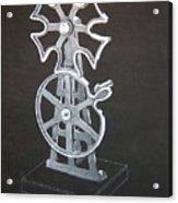 Maltese Cross Gears Acrylic Print
