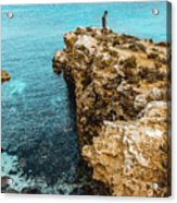 Maltese Dream Acrylic Print
