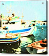 Maltese Harbor Acrylic Print
