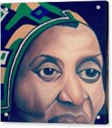 Mama Afrika Acrylic Print