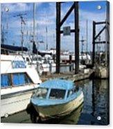 Mama Boat ... Baby Boat Acrylic Print