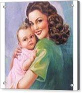 Mama Acrylic Print