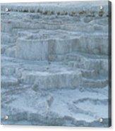 Mammoth Hot Springs Travertine Terraces One Acrylic Print