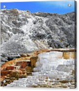 Mammoth Hot Springs3 Acrylic Print