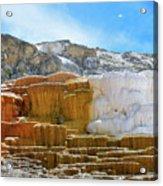 Mammoth Hot Springs4 Acrylic Print