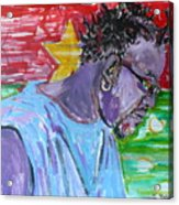 Man From Burkina Faso Acrylic Print