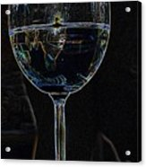 Man In A Glass Acrylic Print