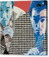 Man In A Houndstooth Suit Acrylic Print