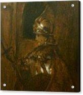 Man In Armor Acrylic Print