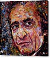 Man In Black Johnny Cash Acrylic Print