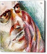 Man In Corner  Acrylic Print
