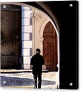 Man In The Archway Acrylic Print