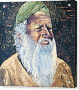 Man In The Green Turban Acrylic Print