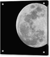 Man In The Moon Acrylic Print