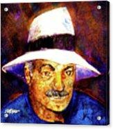 Man In The Panama Hat Acrylic Print