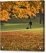 Man In The Park Acrylic Print