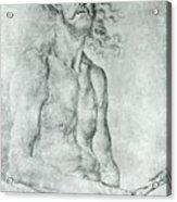 Man Of Sorrow 1522 Acrylic Print