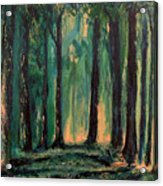 Man Of The Forest Acrylic Print
