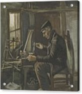 Man Winding Yarn Nuenen, May - June 1884 Vincent Van Gogh 1853  1890 Acrylic Print