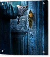 Man With Keys At Door Acrylic Print