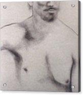 Man With Mustachio Acrylic Print