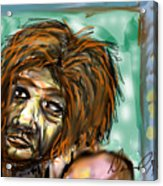 Man Without Hope Acrylic Print