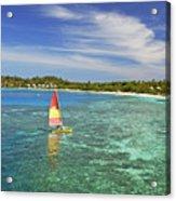 Mana Island Lagoon Acrylic Print