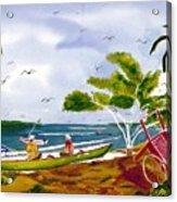 Manana Acrylic Print