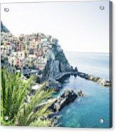 Manarola Cinque Terre Italy Acrylic Print