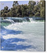 Manavgat Waterfall - Turkey Acrylic Print