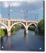 Manayunk Rail Road Bridge Acrylic Print