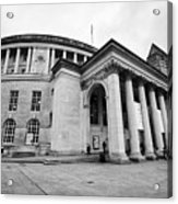 Manchester Central Library England Uk Acrylic Print