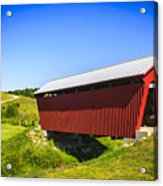 Manchester  Covered Bridge Acrylic Print