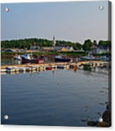 Manchester Harbor Manchester By The Sea Ma Acrylic Print