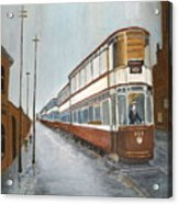 Manchester Piccadilly Tram Acrylic Print